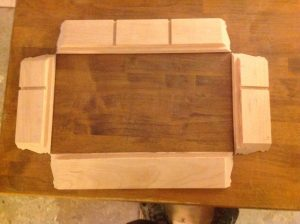 Eagle America's DIY keepsake box layout.