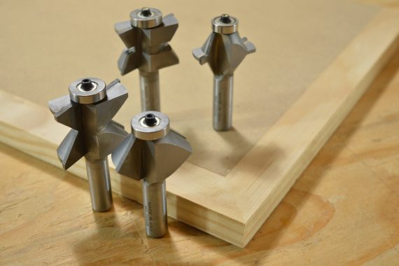 Eagle America's Edge Banding Router Bits.