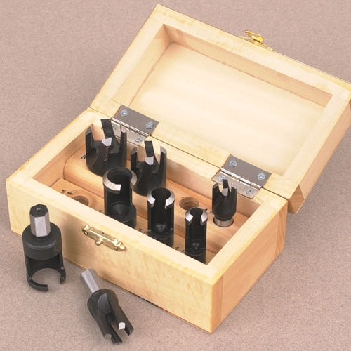 8-Piece Plug Cutter and Tenon Set